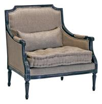 Stephan Masculine French Country Antique Black Accent ...