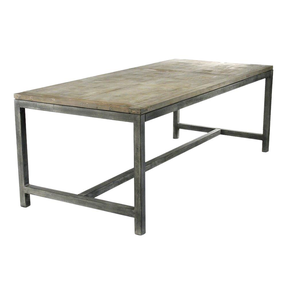 abner industrial modern rustic bleached oak grey dining table kathy rustic kitchen table Abner Industrial Modern Rustic Bleached Oak Grey Dining Table Kathy