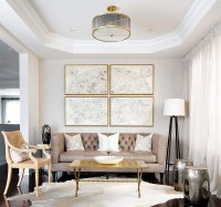 Living Room Decorating Ideas In Mixing Metals - Best site ...
