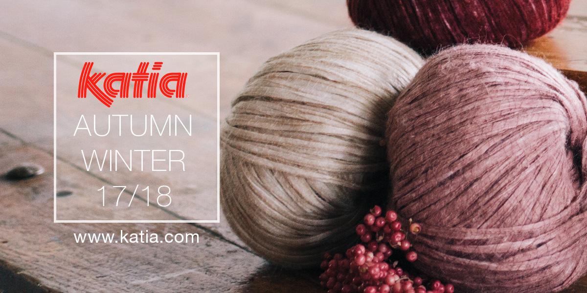 Autumn winter 2017 2018 katia yarns magazines and trends