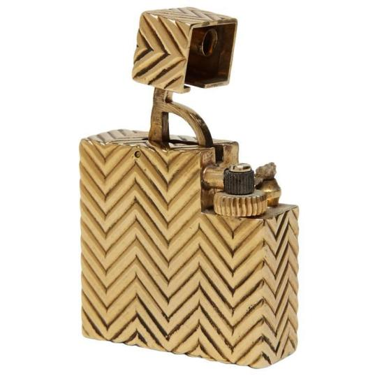 Retro Modern Period Cartier Art Deco Lighter
