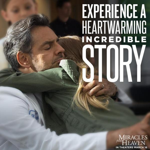 Miracles from Heaven image via movie facebook page