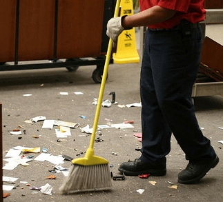 clean-up
