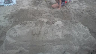 the wall, sand castle, game of thrones