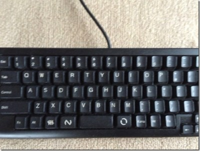 僕がコンパクトなキーボード選ぶわけ。テンキー無しで数字キーを使いたいから。
