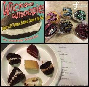 Parts of our whoopie pie taste test!