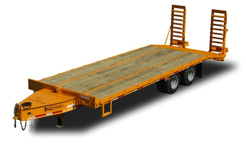 25000 GVWR Tandem Dual Flatbed Trailer by Kaufman Trailers