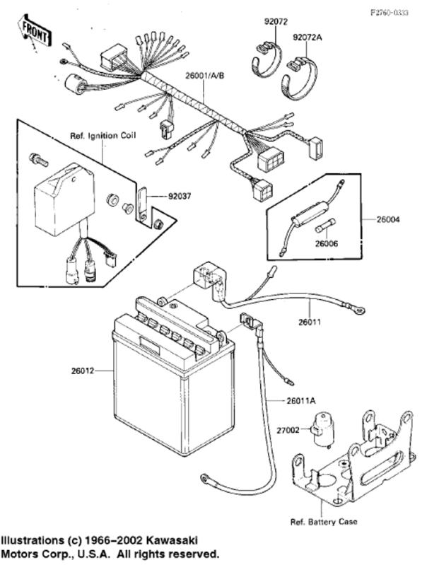1989 kawasaki bayou 220 wiring diagram