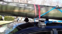 Car-Topping and Strapping Down a Kayak - Kayak Roof Racks