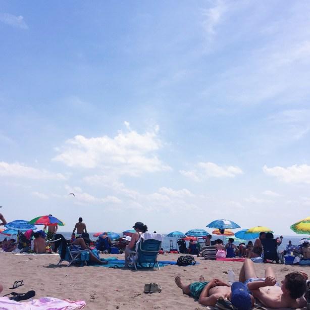 free beach near nyc