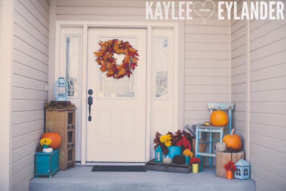 Autumn Front Porch DIY