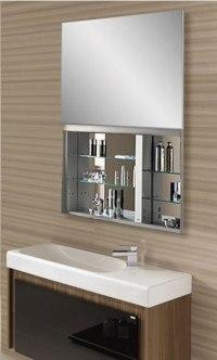 Robern UC4827FPL 48 Inch Uplift Cabinet Flat Plain ...