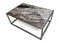 CONTEMPORARY GRANITE TOP COFFEE TABLE - MODERN FURNITURE ...