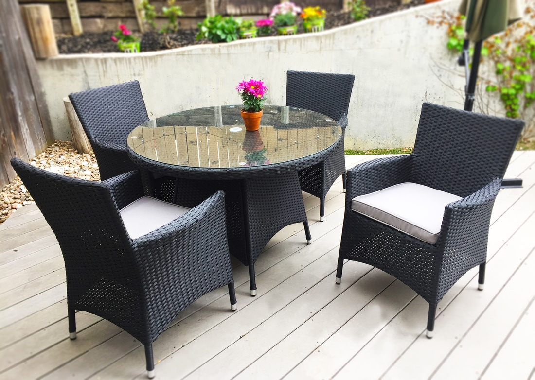 Modern Outdoor Furniture Set Dining Table Modern