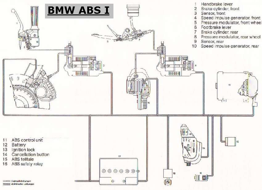 e46 abs wiring diagram