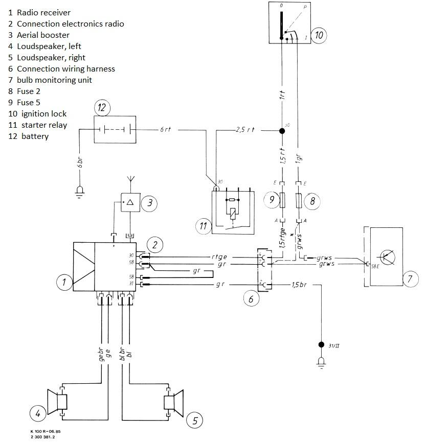 K Bike Wiring Diagrams
