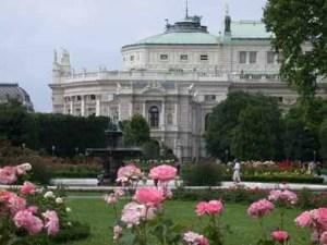 Roses in Burggarten