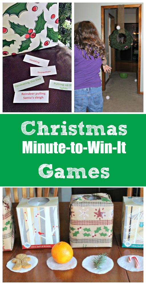 12 christmas minute to win it games