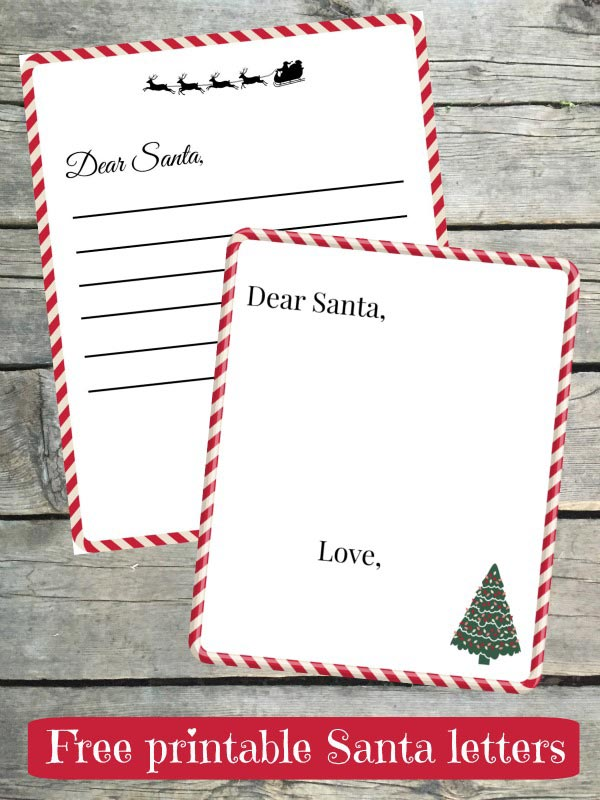 Write a Letter to Santa and get one back! - Edventures with Kids