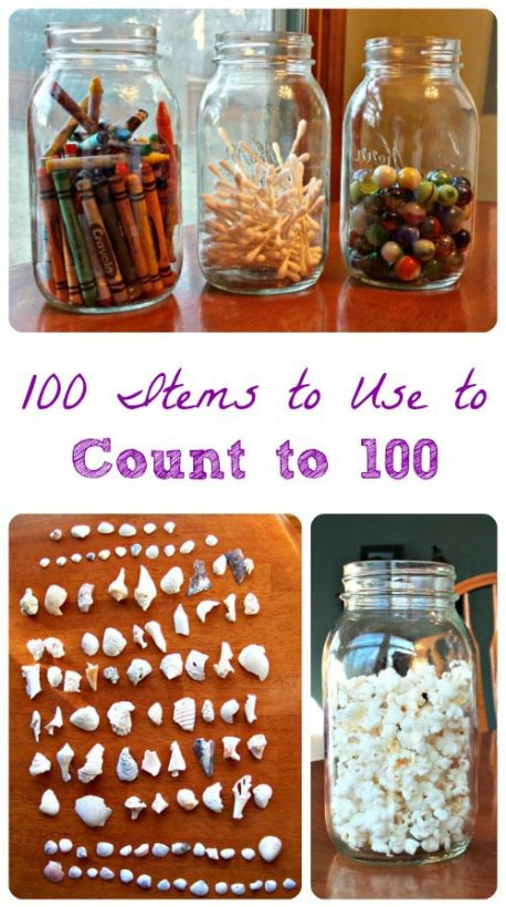 Math Activity for Kids - Count to 100 Ideas