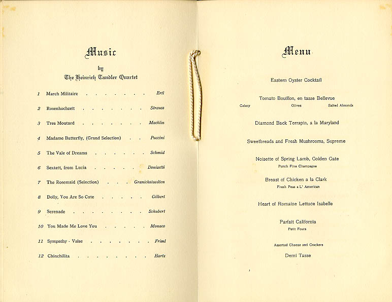 9 Century-old Menus from LA Eateries of Yore KCET