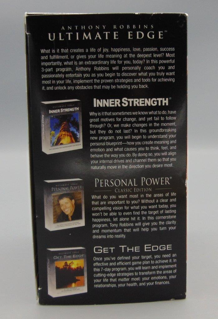 Anthony Robbins Ultimate Edge Collection Set Audio CD\u0027s and DVD - tony robbins disc