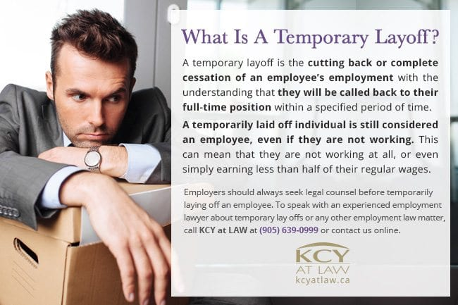 Temporary Layoffs - Guide For Employers  Employees KCY at LAW