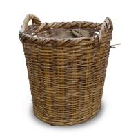 Baskets Prop Hire  Large Wicker Basket #5 - Keeley Hire