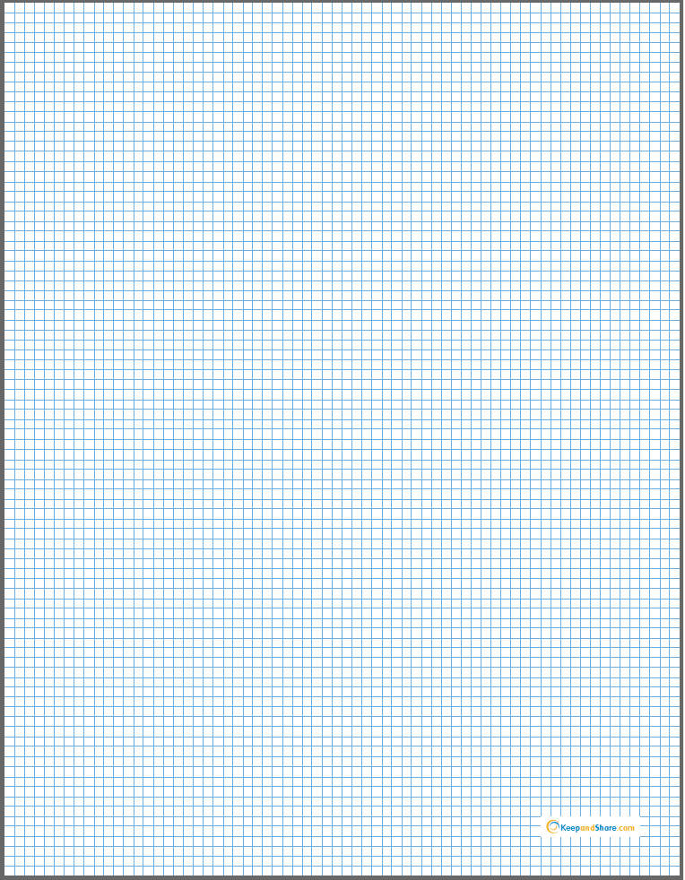 graph paper 1 8 inch