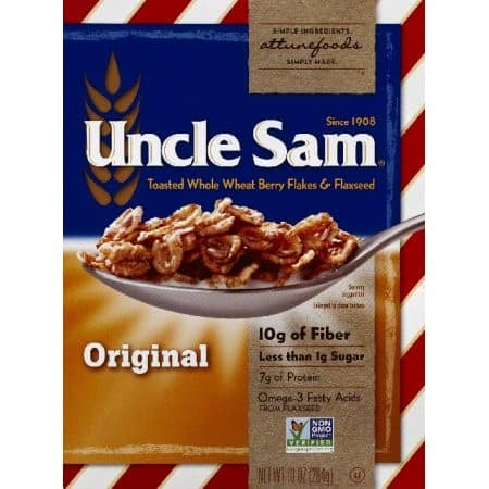 Save $100 off (1) Uncle Sam Cereal Printable Coupon