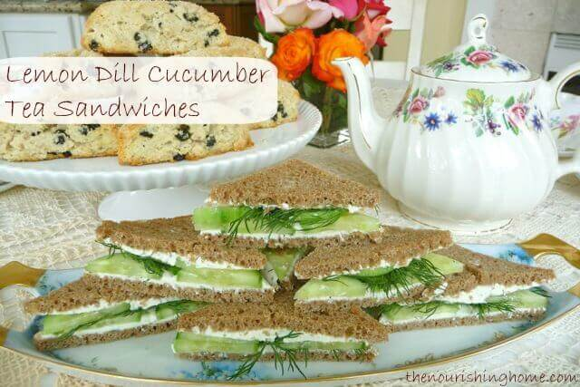 Host An Afternoon Tea Party! {Includes Classic Tea Sandwich Recipe