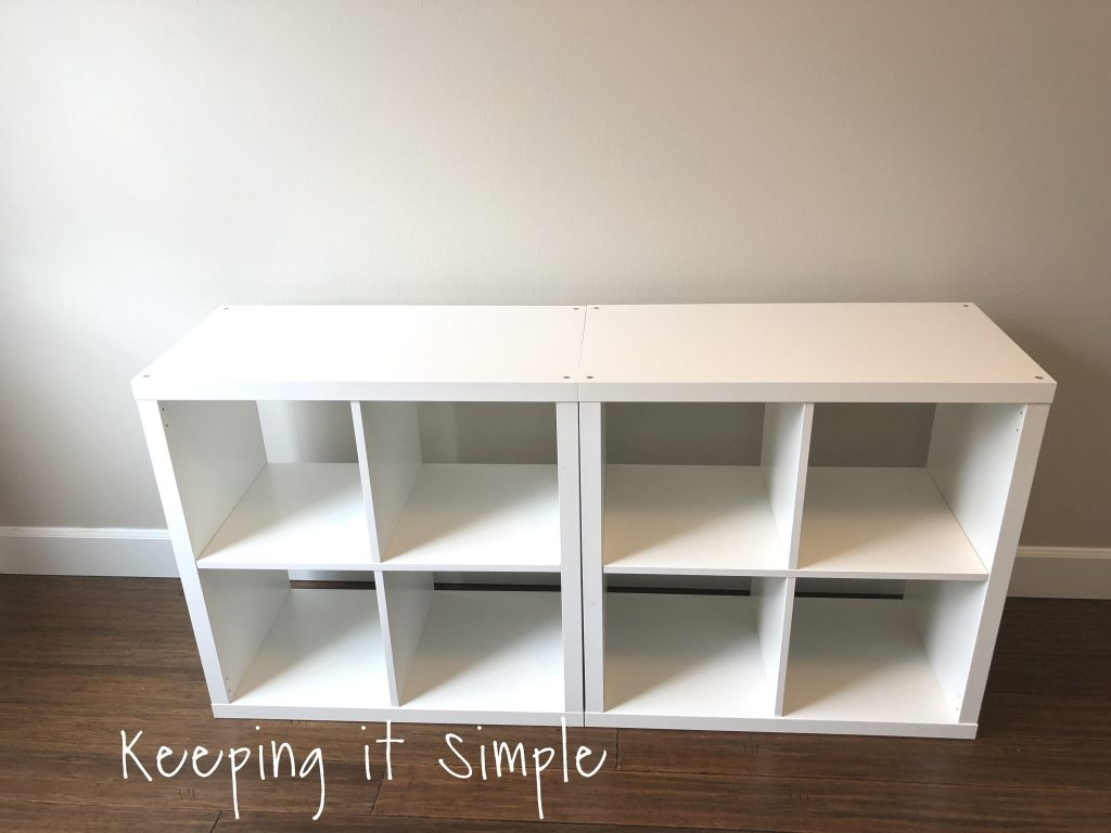 Ikea Hack Diy Computer Desk With Kallax Shelves O Keeping