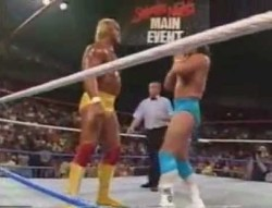 Hulk Hogan vs. The Genius Saturday Night Main Event Match