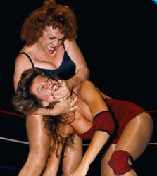 The Fabulous Moolah vs. Judy Grable