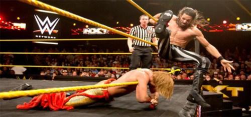 Adam Rose fights Tyler Breeze
