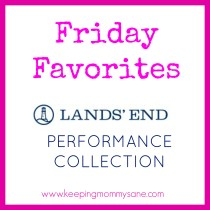 Check out my review of the new @LandsEnd Performance Collection! www.keepingmommysane.com