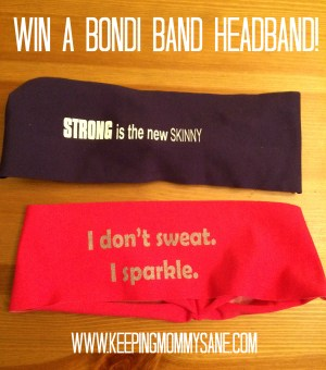 Win a @bondiband from @sanemommy
