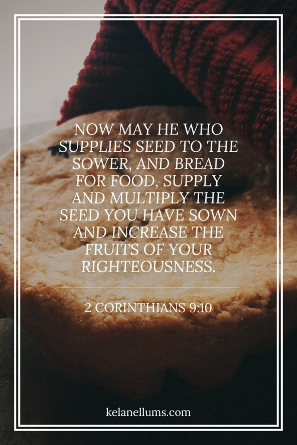 Pursuing What Is Excellent -- 2 Corinthians 9 ten
