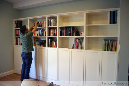 Built In Bookcases By Ikea Kellbot Kellbot