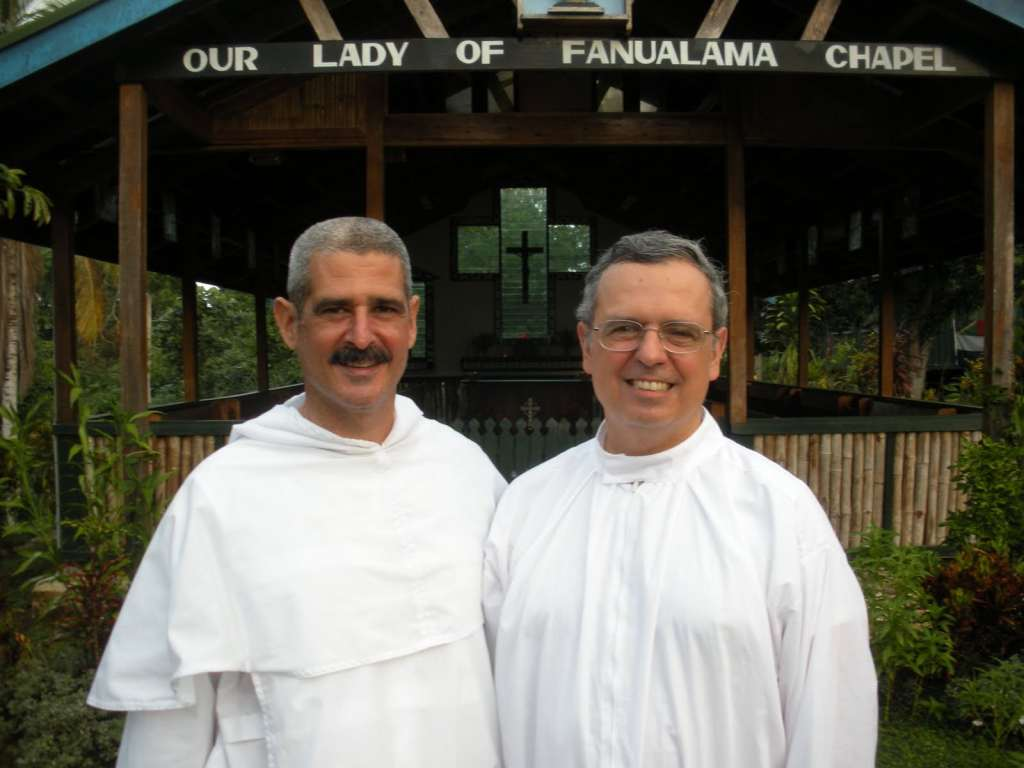 bishop Chris Father Tom