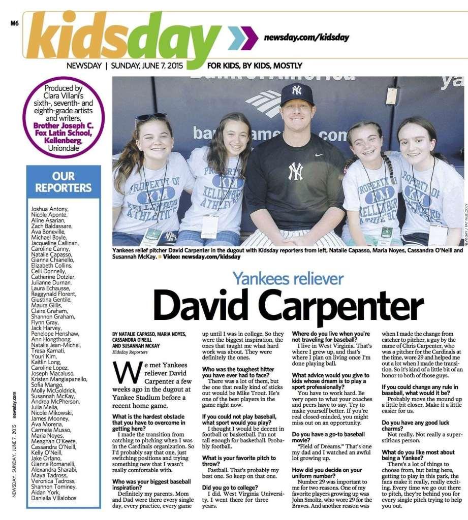 Kidsday June 7