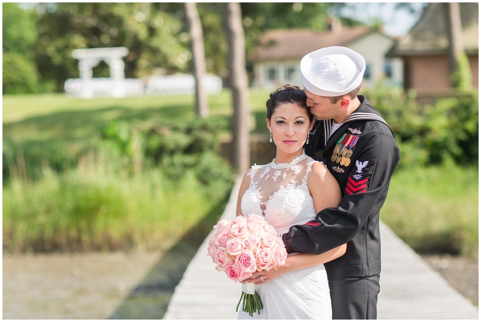beautiful bride and groom at steinhelbers