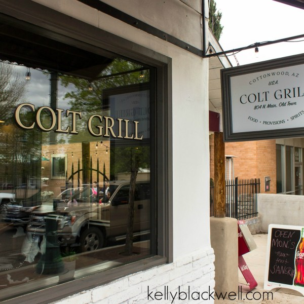Getting out and about – Colt Grill – Old Town Cottonwood, Arizona