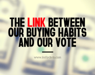 the link between our buying habits and our vote