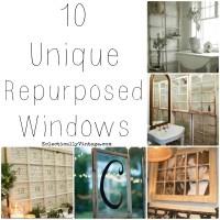 10 Unique Repurposed Windows