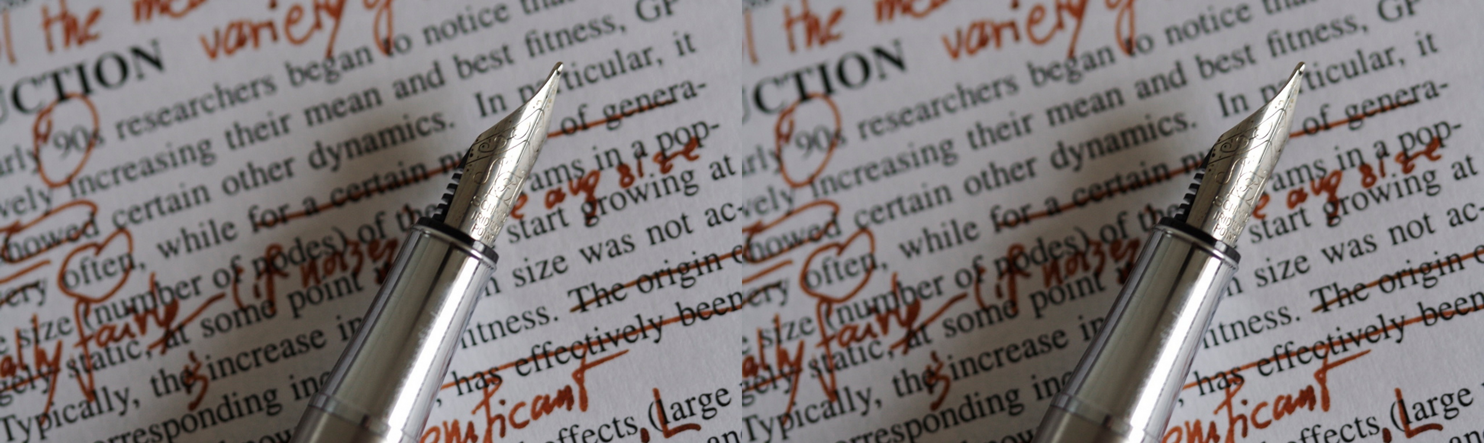 Essay proofreading and editing documents