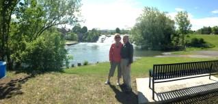 Luke and Patty in Ticonderoga, NY May 2014.