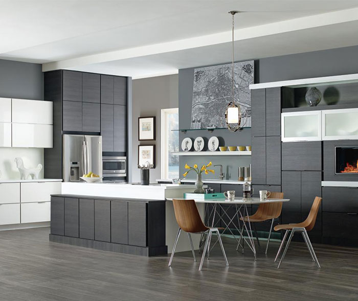 Laminate Cabinets in Contemporary Kitchen Design - Kemper - contemporary kitchen design