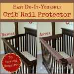 DIY Crib Rail Protector: Easy Idea With No Sewing Required