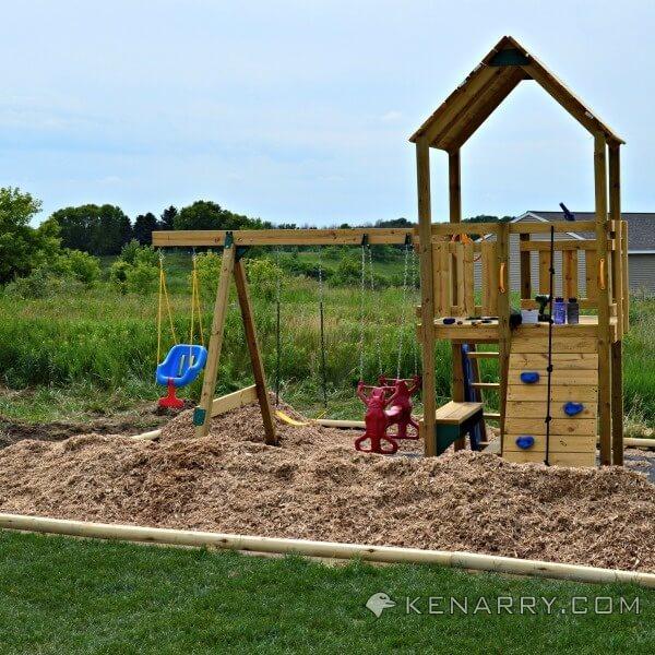 Backyard Playground Surface : DIY Backyard Playground How to Create a Park for Kids  Kenarrycom